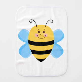 Cute Baby Bee Burp Cloth