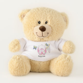 Cute Baby Bunny Cartoon Teddy Bear