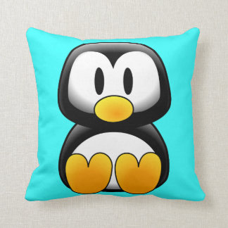Cute Baby Cartoon Penguin Cushion