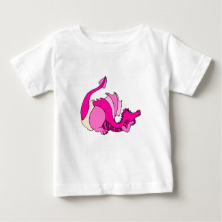 Cute Baby Dragon in Diaper Baby T-Shirt