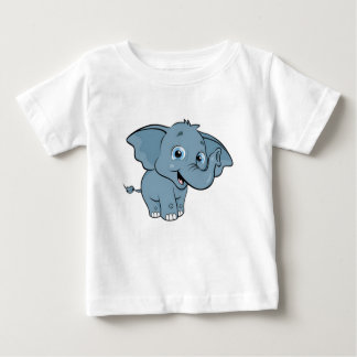 Cute Baby Elephant Baby T-Shirt