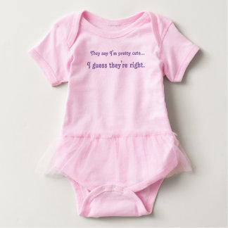 Cute Baby Girl Tutu Baby Bodysuit