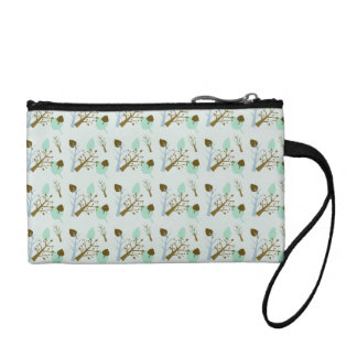Cute Bagettes Bag in shades of azure