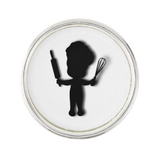 Cute Baker Lapel Pin