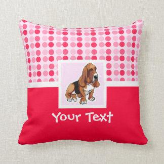 Cute Basset Hound Cushion