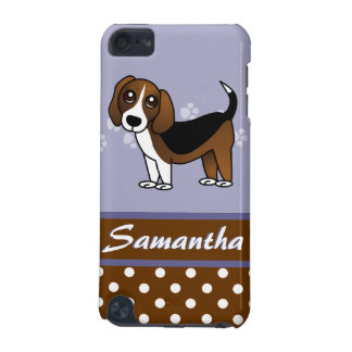 Cute Beagle Cartoon Dog iPod Touch (5th Generation) Cover