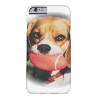 Cute Beagle & Football Toy Barely There iPhone 6 Case