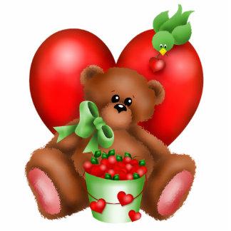 Cute Bear Hearts Photo Sculpture 2
