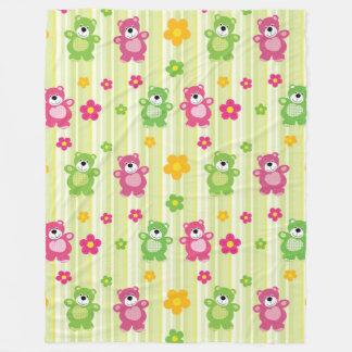 Cute Bears Fleece Blanket