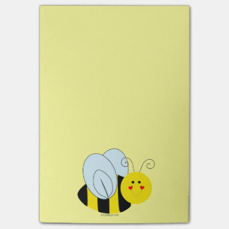 Cute Bee Post-it Notes