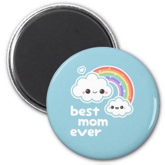 Cute Best Mom 6 Cm Round Magnet