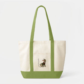 Cute Billy Goat with Bowtie Impulse Tote Bag