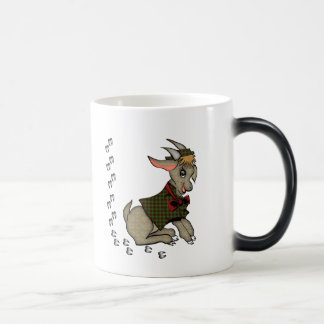 Cute Billy Goat with Bowtie Morphing Mug