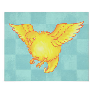 Cute Bird Poster