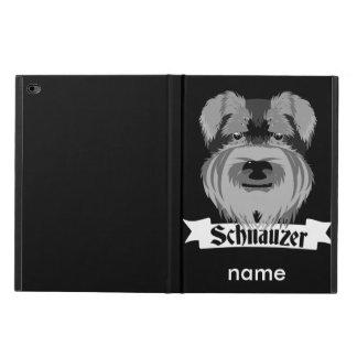 Cute Black and White Schnauzer Powis iPad Air 2 Case