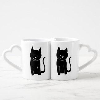 Cute Black Cat Lovers Mugs
