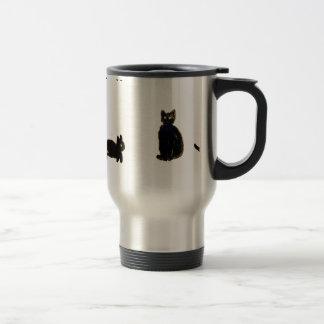 Cute Black Cats Coffee Mugs