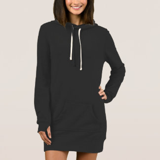 Cute Black Hoodie Dress