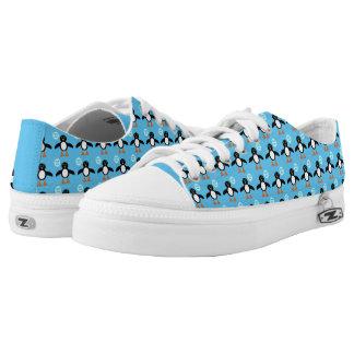 Cute Blue Baby Boy Penguin Shoes