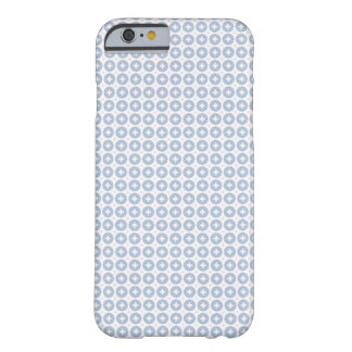 Cute blue Dot Pattern Barely There iPhone 6 Case