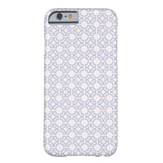 Cute blue Pattern Barely There iPhone 6 Case