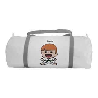Cute Boy's Karate Duffel Bag Gym Duffel Bag