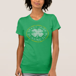 Cute Brady Irish Drinking Team T-Shirt