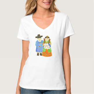 Cute Bride & Groom Lovely Couple T-Shirts