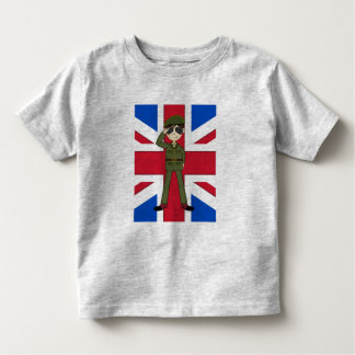 Cute British Army Soldier Tee