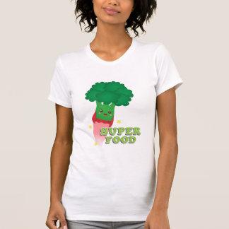 Cute Broccoli Vegetable, Super food T-Shirt