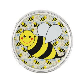 Cute Bumble Bee Lapel Pin