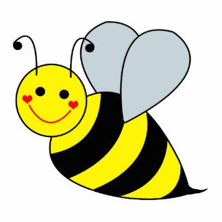 Cute Bumble Bee Sculpture Cutout Standing Photo Sculpture