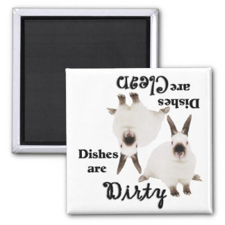 Cute Bunny Lovers Dishwasher Magnet