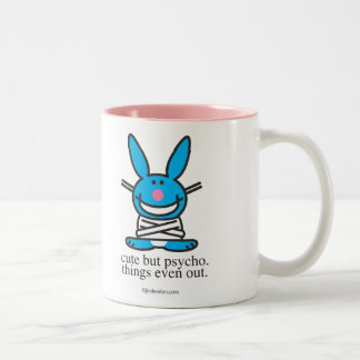 Cute but Psycho Two-Tone Coffee Mug