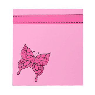 Cute Butterfly Notepad