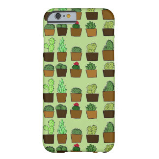 Cute Cacti Barely There iPhone 6 Case