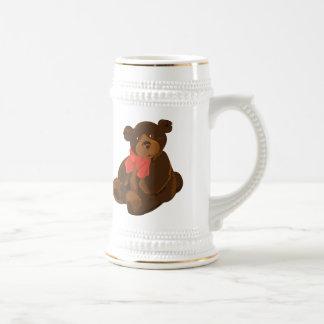 Cute cartoon bear beer steins