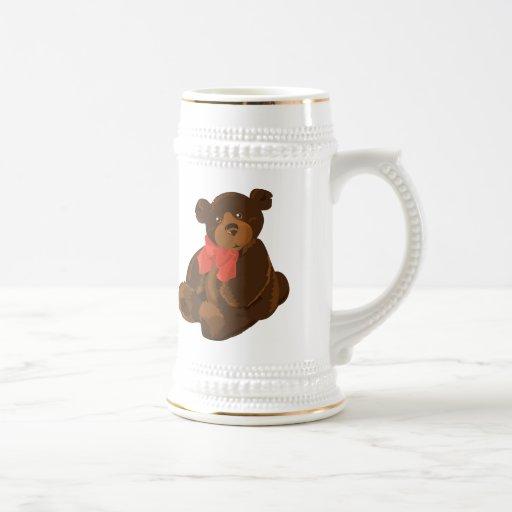 Cute cartoon bear mug