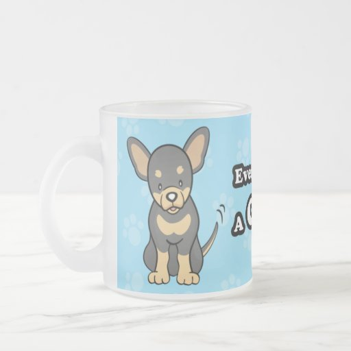 Cute Cartoon Chihuahua Mug