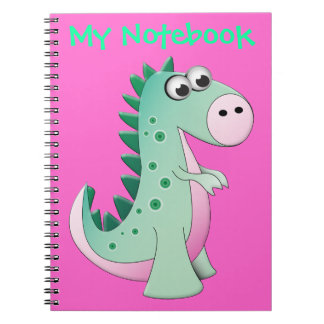 Cute Cartoon Dinosaur Notebook