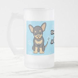 Cute Cartoon Dog Chihuahua Mug