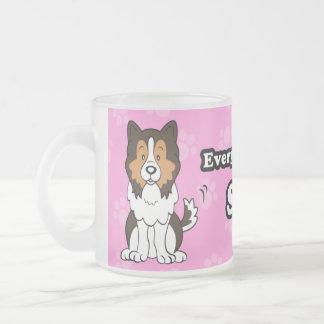 Cute Cartoon Dog Sheltie Mug