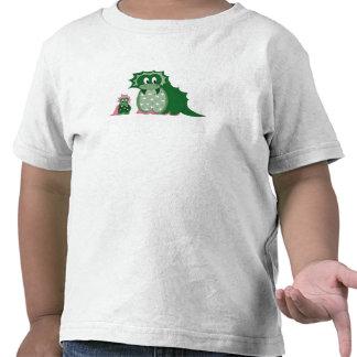 Cute Cartoon Green Dragons T-shirt