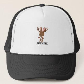 Cute Cartoon Jackalope Trucker Hat