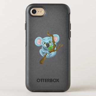 Cute Cartoon Koala OtterBox Symmetry iPhone 8/7 Case