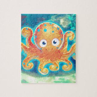 Cute Cartoon Octopus Puzzle