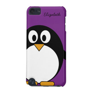 cute cartoon penguin purple iPod touch 5G cover