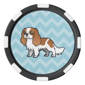 Cute Cartoon Pet Poker Chips Set