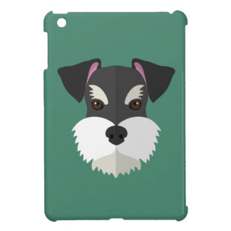 Cute Cartoon Schnauzer! iPad Mini Case