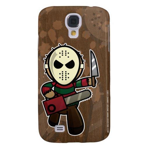 Cute Cartoon Serial Killer Galaxy S4 Cases